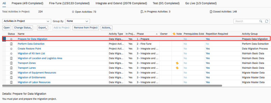 Bösch ERP - Master data migration to SAP Business ByDesign using the