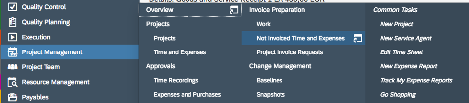 Bösch ERP - Invoice projects in the right way! - Project